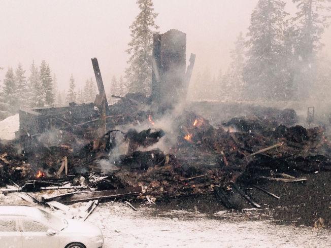 <p>DRAMATISK: Bjørn Dæhlies hytte i Hafjell ble totalskadet i en brann natt til lørdag forrige uke.<br/></p>