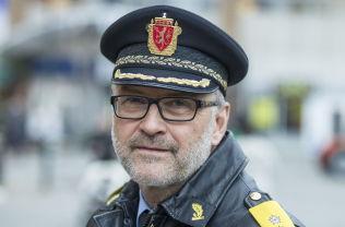 <p>SJEFEN: Politimester Hans Sverre Sjøvold er tilfreds med den kraftige nedgangen i kriminaliteten i Oslo.<br/></p><p>Foto: ROGER NEUMANN</p>