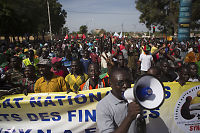 Stormet nasjonalforsamlingen i Burkina Faso