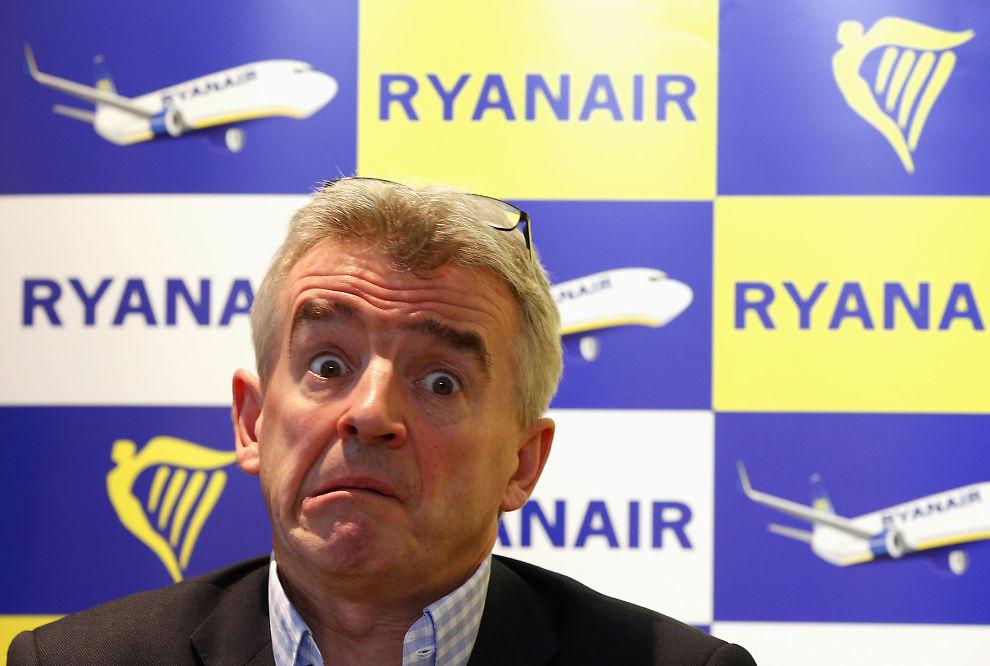 <p>ANGRER OPPFØRSEL: Sjef for lavprisselskapet Ryan Air hevder at han angrer på at han tidligere har vært for slem mot kundene.<br/></p>