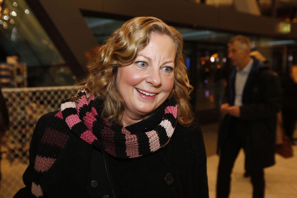 <p>FUNNET DET UT: Administrerende direktør i Telenor Norge, Berit Svendsen, kan meddele at de nå har funnet årsaken til at nettet deres gikk«dunken» torsdag. FOTO: JØRGEN BRAASTAD/VG</p>