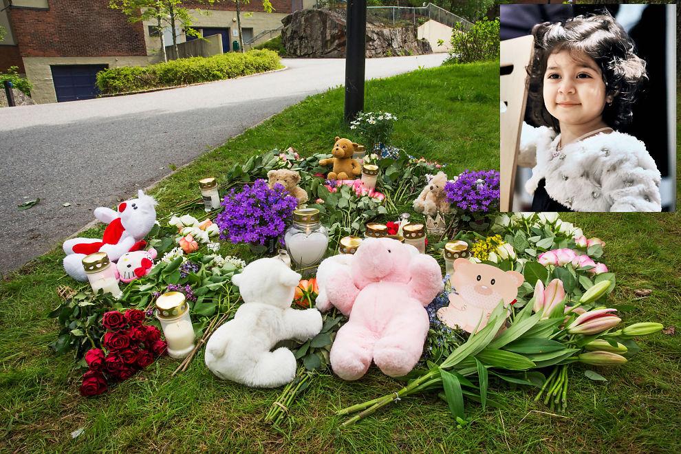 <p>ÅSTED: Flere personer la i dagene etter 23. mai ned blomster på stedet hvor to år gamle Havin (innfelt) ble funnet drept, noen hundre meter fra boligblokken på Ellingsrud.<br/></p>
