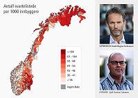 Gjeldskrisen:  Vestlendinger best til å betale regninger