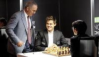 Carlsens innrømmelse: Fikk VM-hjelp fra Kasparov