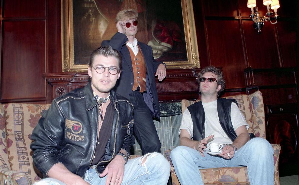 <p>STJERNER I SIKTE: Morten Harket (f.v.), Pål Waaktaar-Savoy og Magne Furuholmen fotografert sammen i 1993.<br/></p>