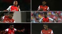 Sjekk Arsenals unge innbytterbenk