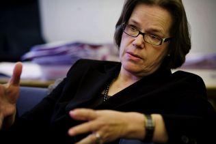 ESA-PRESIDENT: Oda Helen Sletnes.