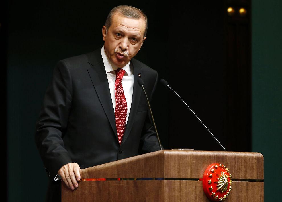 <p>FORRÆDERI: Tyrkias president Recep Tayyip Erdogan mener tyrkere som bruker prevensjon gjør seg skyldige i forræderi.</p><p/>