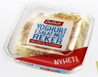 <p>FLOPP: Sterk prisvekst på skalldyr var en av årsakene til at yoghurtsalat med reker ble trukket fra markedet.<br/></p>
