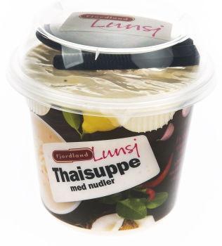 <p>FLOPP: Thaisuppe med nudler var del av en ny serie med lunsj-/småretter i på-farten emballasje. Serien fortsetter uten suppene.</p>