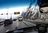 Mindre salt på norske veier