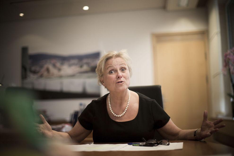 <p>HANDLEKLAR: Kulturminister Thorhild Widvey (H).</p><p/>