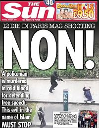 Slik ser verdens avisforsider ut dagen etter Paris-terroren