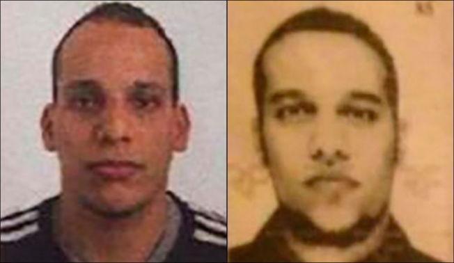 <p>JAKTES: Said Kouachi (t.v.) og Cherif Kouachi er mistenkte for å stå bak terrorangrepet, og titusener av politifolk i Frankrike leter etter brødreparet.<br/></p>