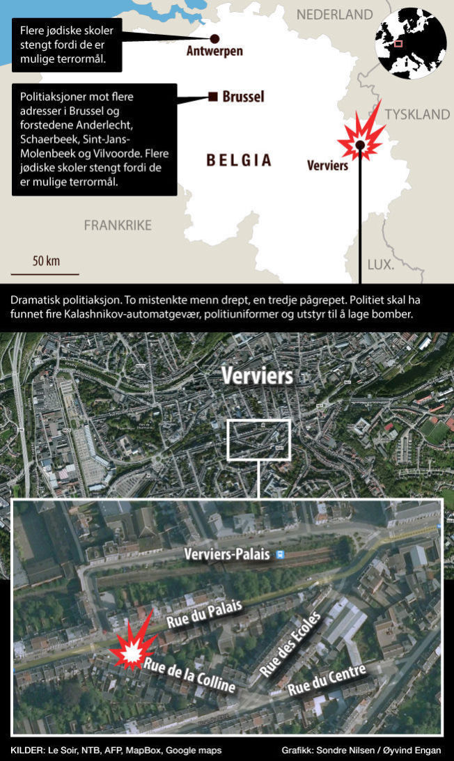 verviers muslim Some jewish schools in belgium and the netherlands in verviers, muslims attending friday weekly prayers distanced themselves from militants but had few ideas.