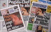 Tysk Pegida-leder trekker seg etter omstridt Hitler-bilde