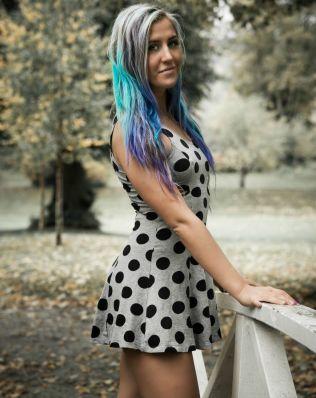 <p>PROVOSERER: Bloggeren Lotte Cornelia Fagerheim (23) har på rekordtid fått Norges mest leste blogg. Foto: Tord Fuglstad</p>