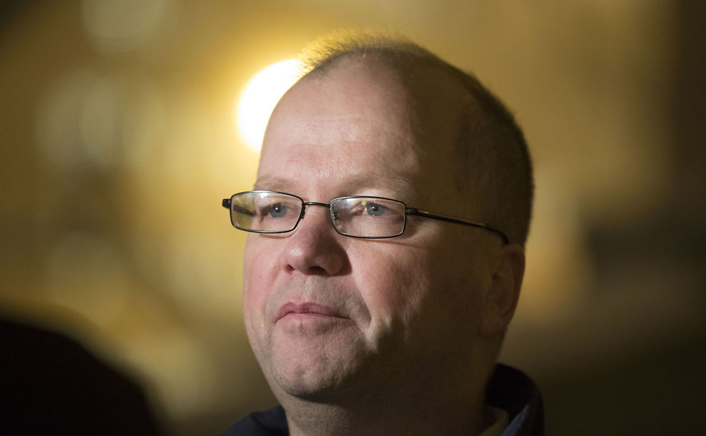 <p>KRITISK TIL ISLAM: Mandag i forrige uke arrangerte Max Hermansen protestmarsj rundt og utenfor rådhuset i Oslo.<br/></p>