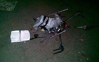 Narko-drone krasjlandet i Mexico