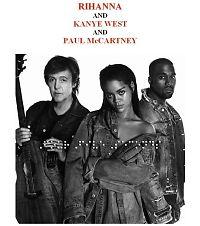 Låtanmeldelse: Rihanna/Kanye West/Paul McCartney - «FourFiveSeconds»