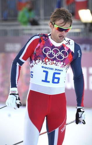 <p>RØK I SEMIFINALEN: Petter Northug kom ikke videre fra semifinalen på sprinten under OL i Sotsji i fjor. Ola Vigen Hattestad ble olympisk mester. Northug går NM-sprinten fredag, i et forsøk på å få en av sprintplassene til VM i Falun.</p>