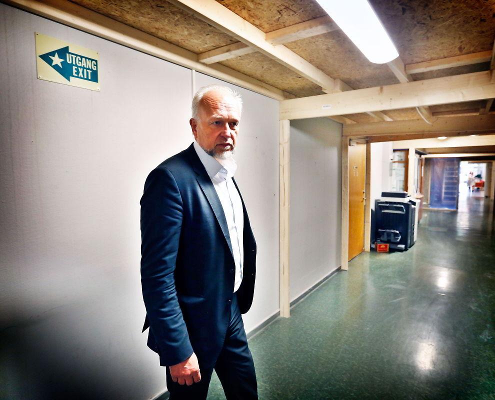 SLETT INGEN GAUSTAD-EXIT: Sykehusdirektør Bjørn Erikstein har ikke gitt opp drømmen om å samle Oslo-sykehusene på Gaustad.