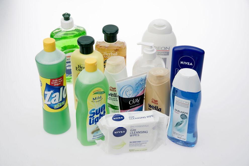 <p>STERKT ALLERGIFREMKALLENDE: Alle disse produktene inneholder et stoff som bekymrer EU og myndighetene: MI.<br/></p>