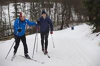 Solvik-Olsen ber Raymond og Jonas holde seg til dette: Å gå på ski