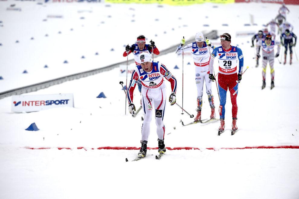 Johan Olsson Petter Northug