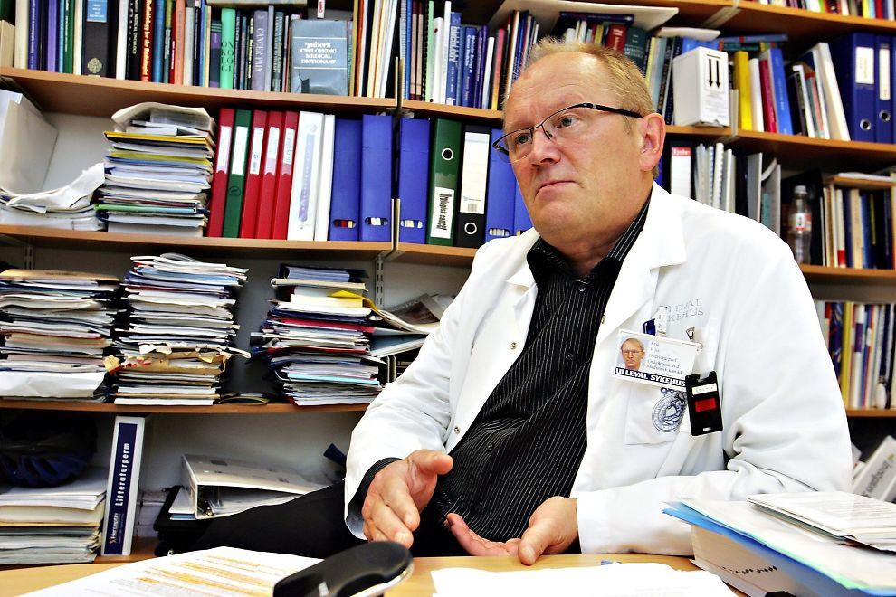<p>Professor Erik Wist ved Oslo Universitetssykehus.<br/></p>