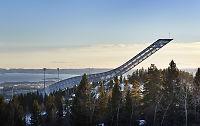 Til leie: Leilighet med panoramautsikt på toppen av Holmenkollbakken