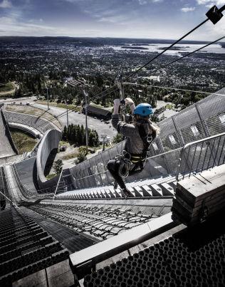 <p>KOLLENSVEVET: Ziplinen åpner for sesongen like før topprommet skal leies ut.<br/></p><p><br/></p>