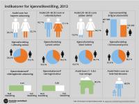 Så (lite) likestilte er norske kvinner