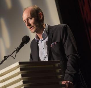 <p>SVÆRT BEKYMRET: Knut Olav Åmås, direktør i Stiftelsen Fritt Ord.</p>