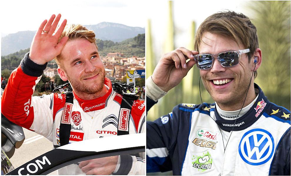IMPONERTE: Mads Østberg og Andreas Mikkelsen ble nummer to og tre i Rally Mexico.