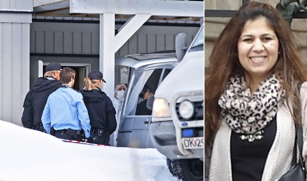 <p>DRAP: Hanan Majid Mohammed (30) ble mandag 15. desember funnet i en fryser. Ektemannen ble samme dag siktet for drap. Her bæres fryseren ut av politiets krimteknikere dagen etter drapet.</p><p><br/></p>