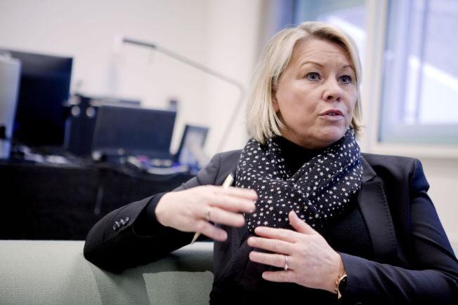<p>POSITIV: Næringsminister Monica Mæland (H).</p>