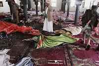 Selvmordsangrep mot moskeer i Sana - IS tar på seg skylden