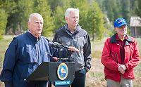 Ekstremtørke tvinger innbyggere i California til vannrasjoneringer