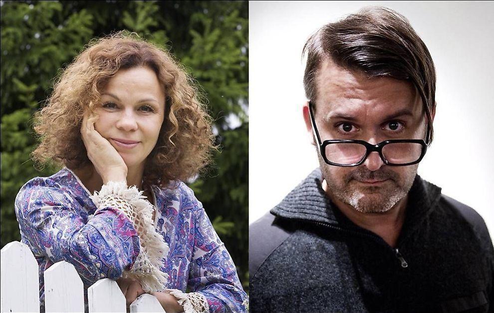 PORNOSTRID:Kari Jaquesson mener NRKs «Trygdekontoret» har betalt for andres prostitusjon. Dette avviser programleder Thomas Seltzer.