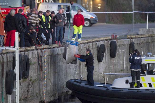 & lt; p & gt; HER OBTAINED KARI UP: Last week the relics of Kari Gr & # XF8; nnestad recovered by divers in Skien River. & lt; br / & gt; & lt; / p & gt;