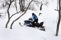 Snøscooterløyper får flertall i Stortinget