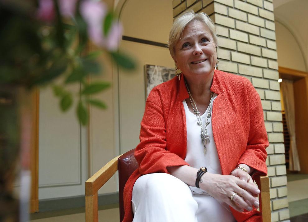 NÅ KOMMER FRITAKET: Kulturminister Thorhild Widvey drar i dag til Bergen for å presentere nullmoms-forslaget for mediebransjen.