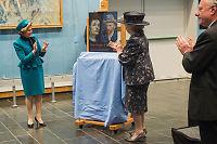 Beatrix+Sonja åpnet «Van Gogh+Munch»