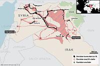 Se oversikten: Disse områdene er under IS-kontroll