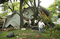 Flere hundre mistet hjemmet  i storflom i USA