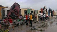 Tornado herjer i Mexico og Texas: Minst 16 døde