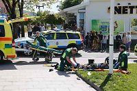 Svensk politi: Mann kjørte på tigger med vilje