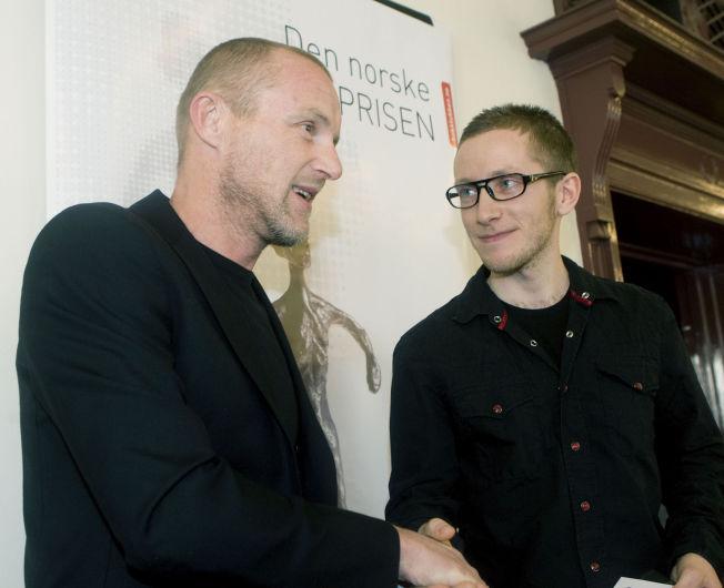 <p>LARS PETTER SVEEN: I 2009 valgte Jo Nesbø han ut som årets debutant. Nå er Sveen kåret til en av Norges ti beste forfattere under 35 år.<br/></p>