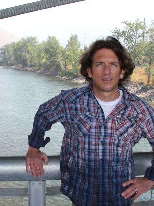 I HJEMBYEN: Tyler Hamilton, her i møte med VG i 2012, bor her: I Missoula, Montana.